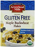 Arrowhead Mills Organic Gluten Free Maple Buckwheat Flakes Cereal, 10 Ounce Boxes (Pack of 6)