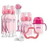 Dr. Brown's Options+ Baby Bottles Gift Set, Pink (Color: Pink)
