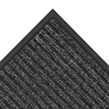 NoTrax 109 Brush Step Entrance Mat, for Lobbies and Indoor Entranceways, 3' Width x 6' Length x 3/8