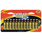Energizer Eveready Gold AA Batteries, 24 Count (Tamaño: 24 Count)