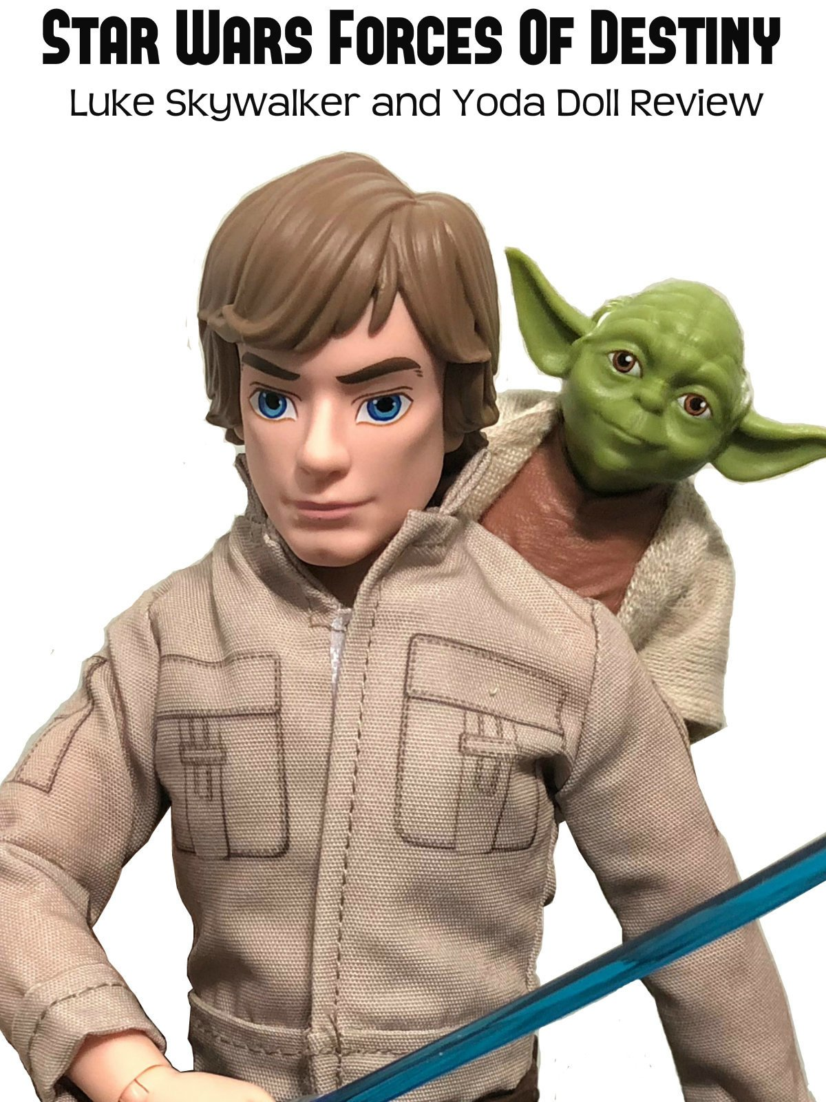 Review: Star Wars Forces Of Destiny Luke Skywalker and Yoda Doll Review on Amazon Prime Video UK