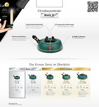 krinner comfort xxl xxl christbaumst nder avec original krinner ein seil. Black Bedroom Furniture Sets. Home Design Ideas