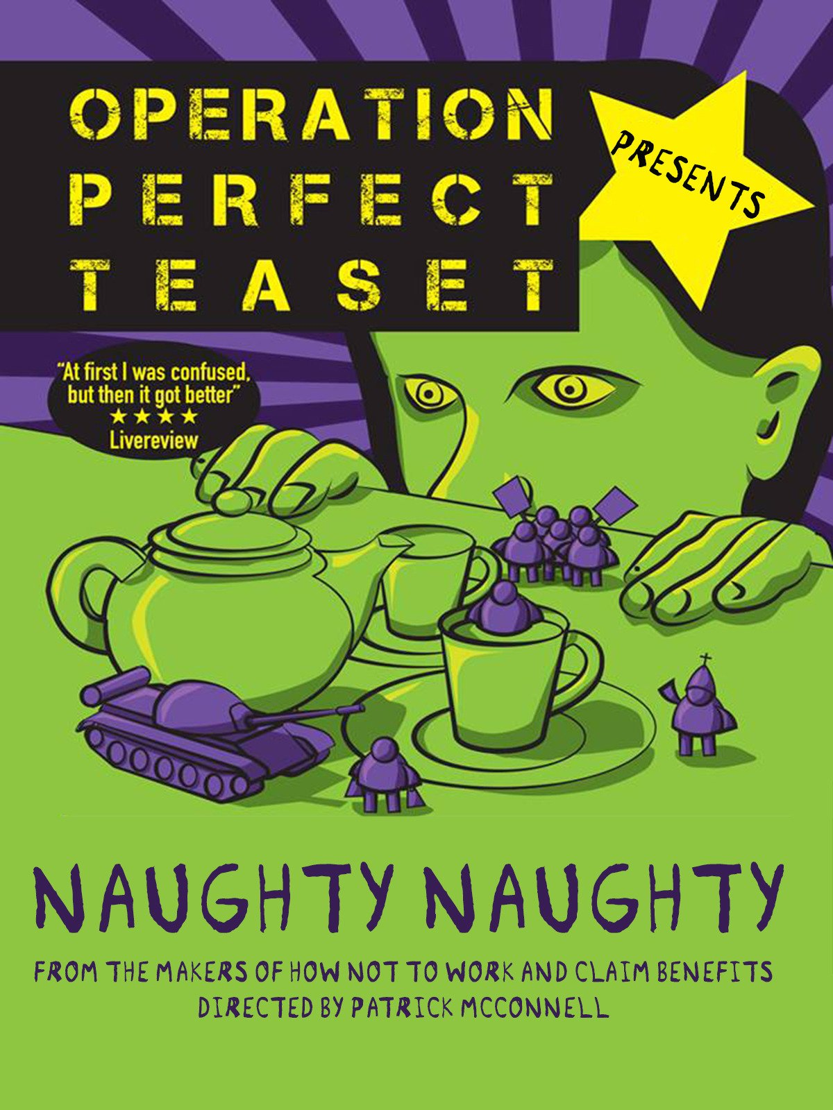 Operation Perfect Teaset Presents: Naughty Naughty