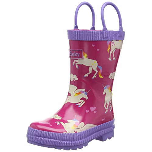 Hatley Girls Rainboots -Unicorns and Rainbows