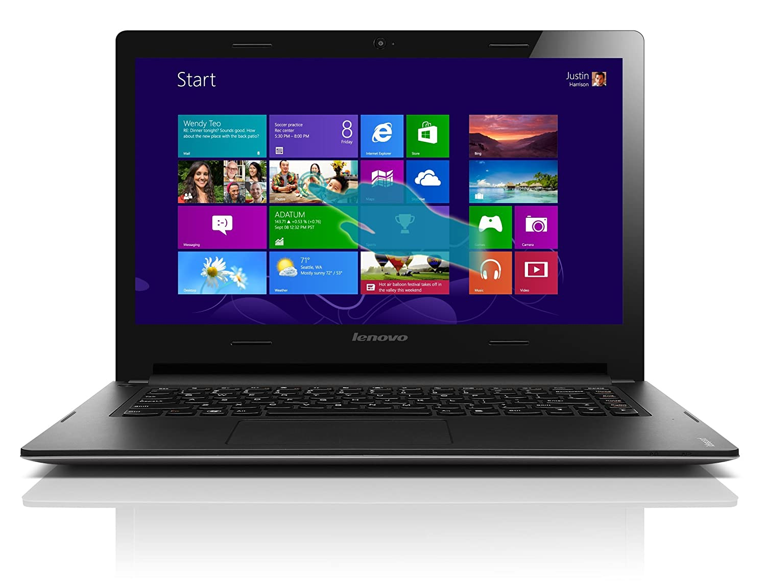 Lenovo IdeaPad S415 59385549 14-Inch Touchscreen Laptop