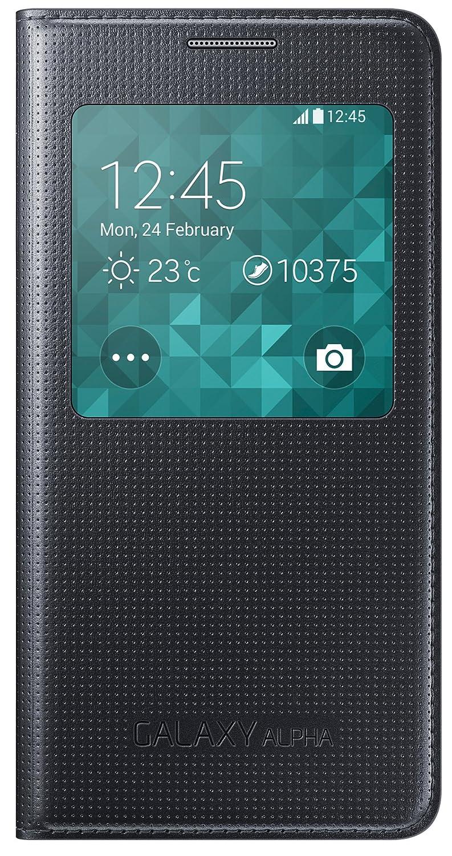 Samsung Galaxy Alpha S-View Flip Tasche