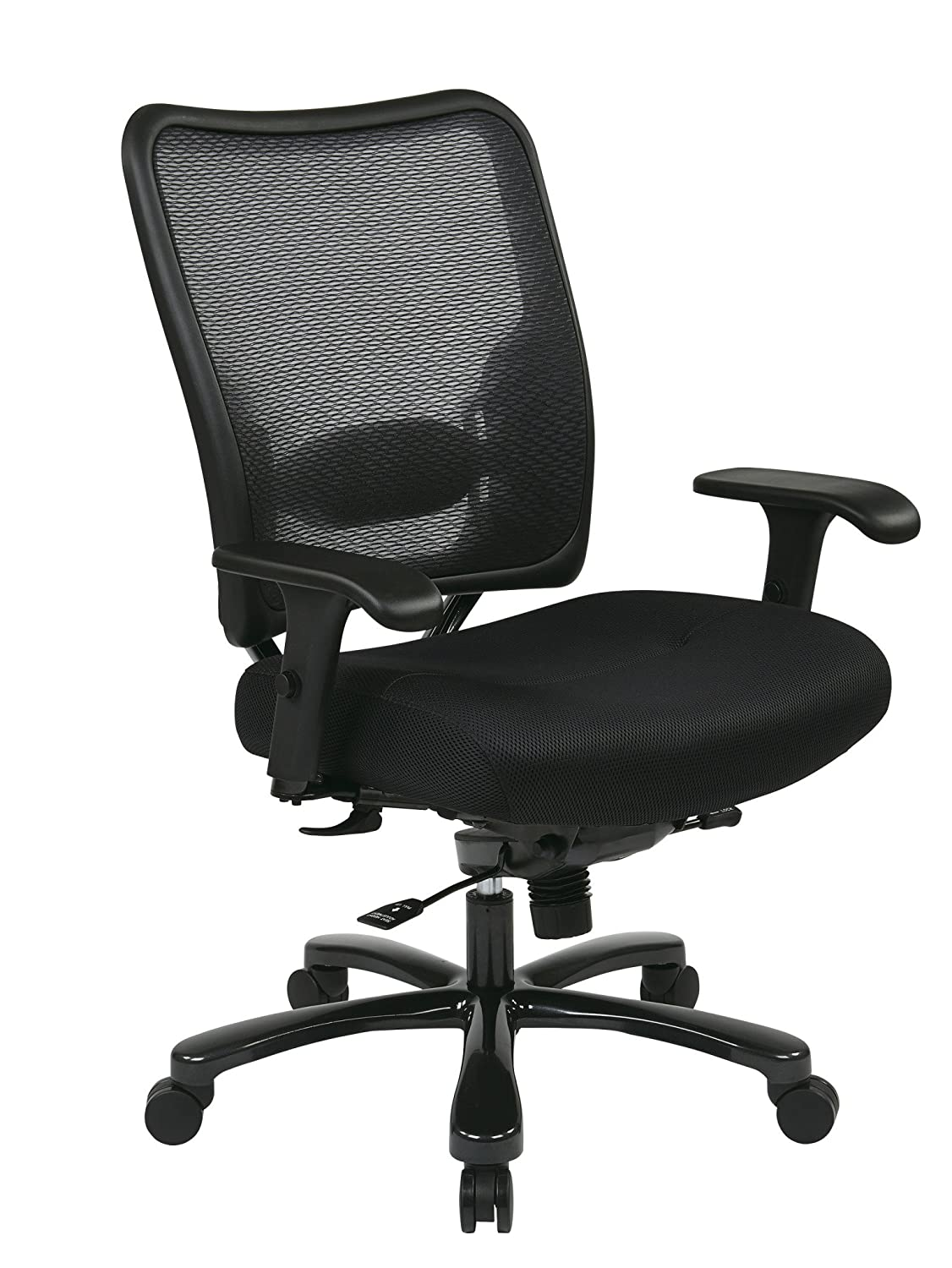 Best office chair 2016 - Office Star 7537a773 Space Air Grid Executive Big And Tall Chair Air Grid Back Mesh Seat