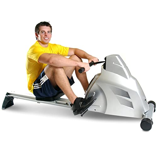 Workout with a rowing machine