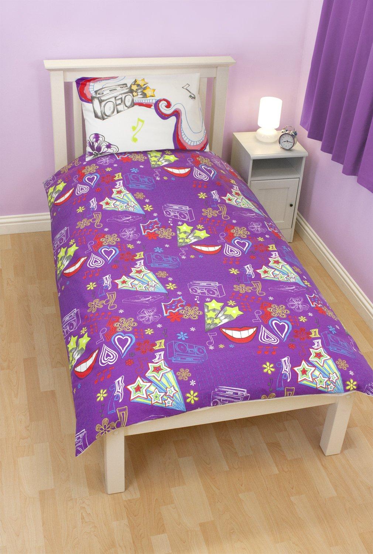 housse couette violetta. Black Bedroom Furniture Sets. Home Design Ideas