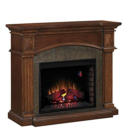 ClassicFlame 28WM4311-C259 Toledo Wall Fireplace Mantel, Cocoa (Electric Fireplace Insert sold separately)