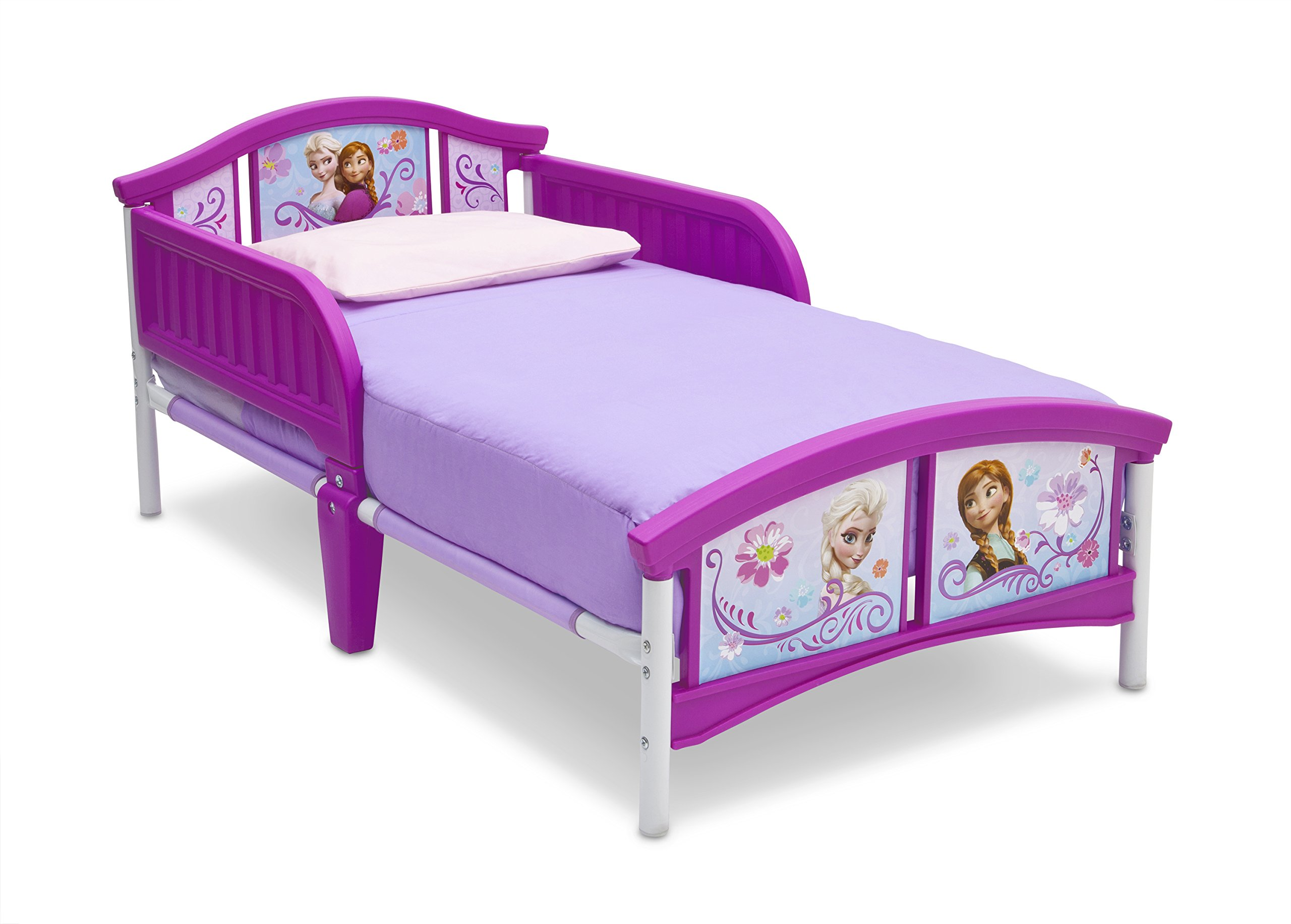 Disney Frozen Canopy Kids Toddler Bed Girls Princess Anna