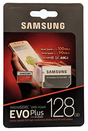 Samsung Evo Plus 128GB MicroSD Memory Card (2 Pack) Works with GoPro Hero 8 Black (Hero8), Max 360 UHS-I, U1, Speed Class 10, SDXC (MB-MC128G) with (1) Everything But Stromboli (TM) Micro Card Reader (Color: Class 10 128GB)