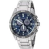 Citizen Men's 'Eco-Drive' Quartz Titanium Casual Watch, Color:Silver-Toned (Model: BL5558-58L)
