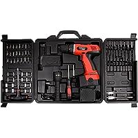 Stalwart 18-Volt 78-Piece Cordless Drill Set (Black/Orange)