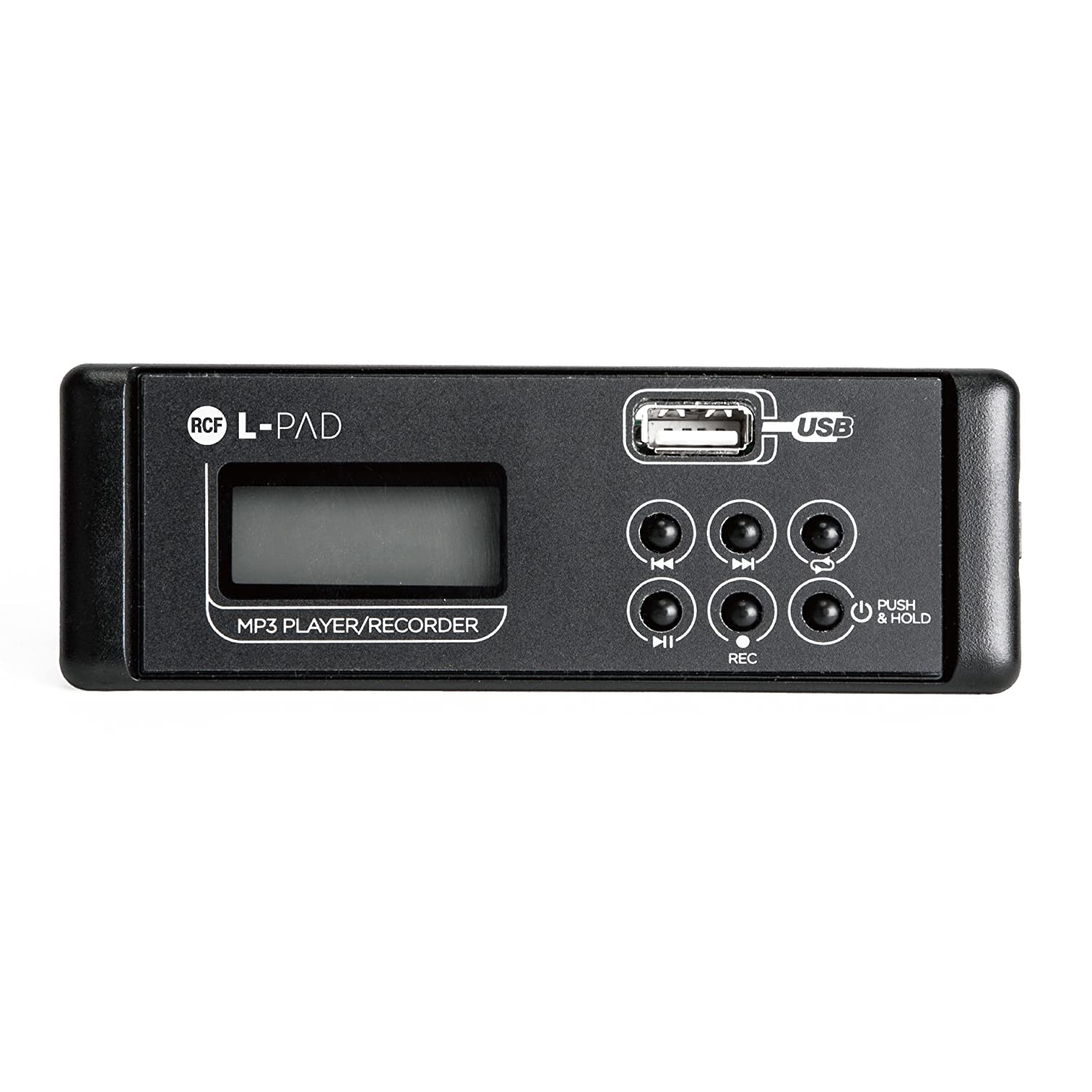 RCF LPAD-MP3-R MP3 Player/Recorder Card сетевой фильтр power cube sisn black 10 garant 6 розеток 3 м черный