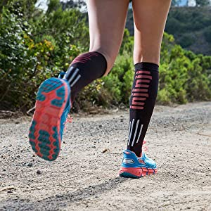 Injinji Ultra Compression OTC Sock (Medium, Black) (Color: Black, Tamaño: Medium)