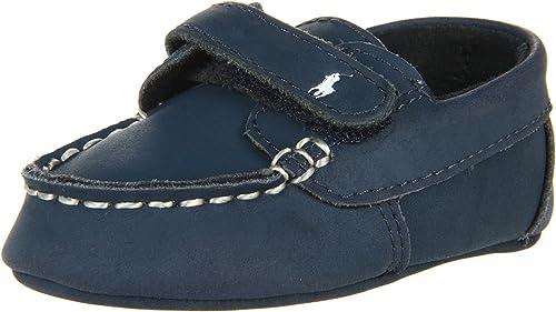Official Ralph Lauren Layette Captain EZ Crib Shoe For Boys Outlet Online Multicolor Collections