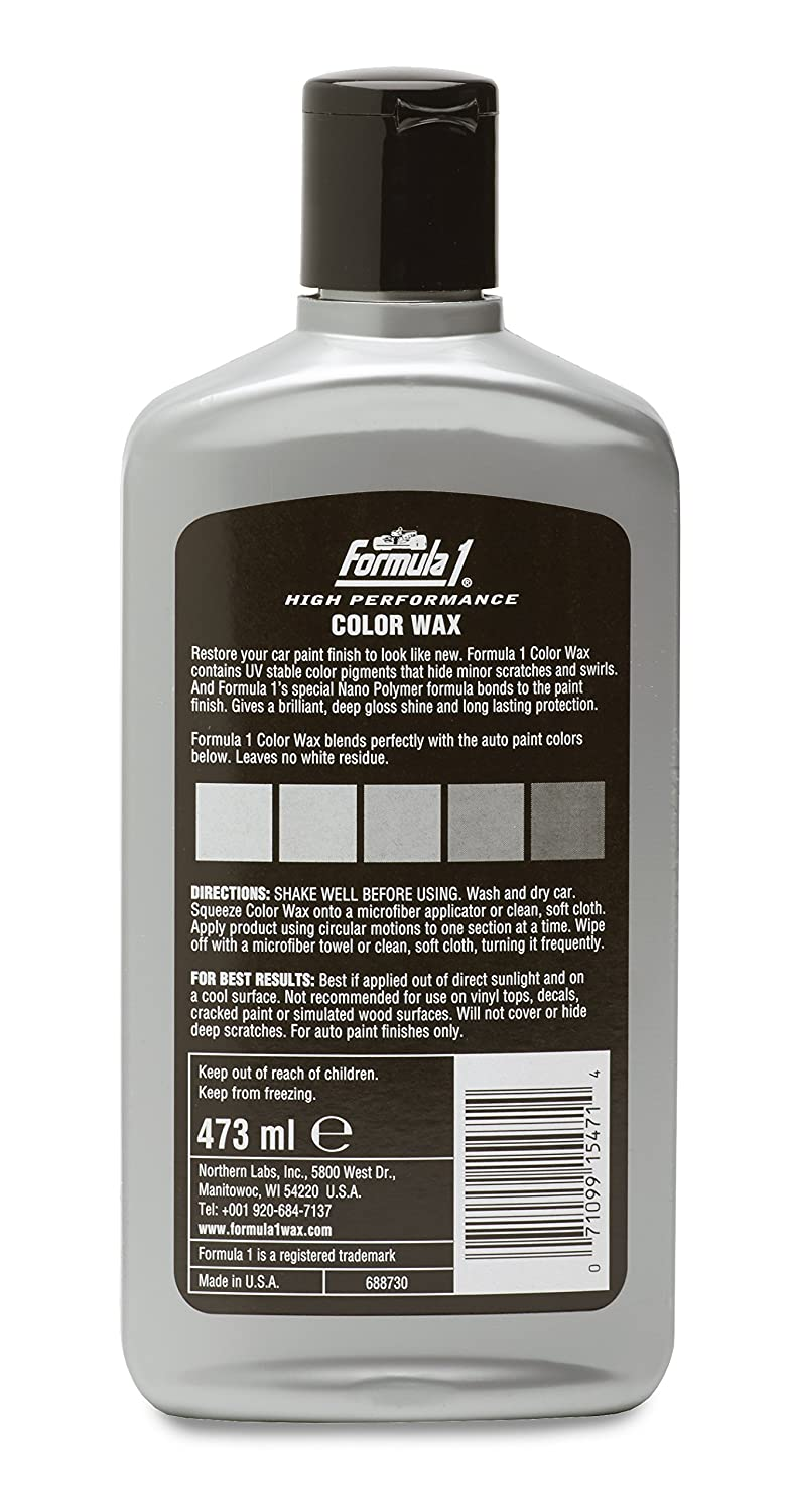 Car color paint that hides scratches best - Formula 1 Color Wax For Cars 473 Ml Silver Amazon In Car Motorbike