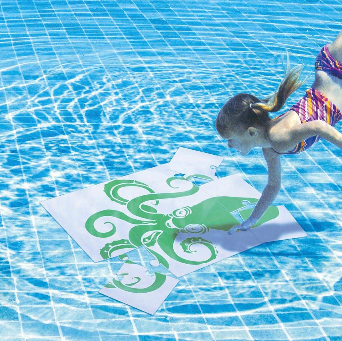 Sport-Thieme® Unterwasser-Wendepuzzle Set, Groß, Krake und Fisch online bestellen