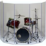 Drum Shield- DS65L Five - 2ft. x 6 ft. Panels with Plastic Full Length Living Hinges