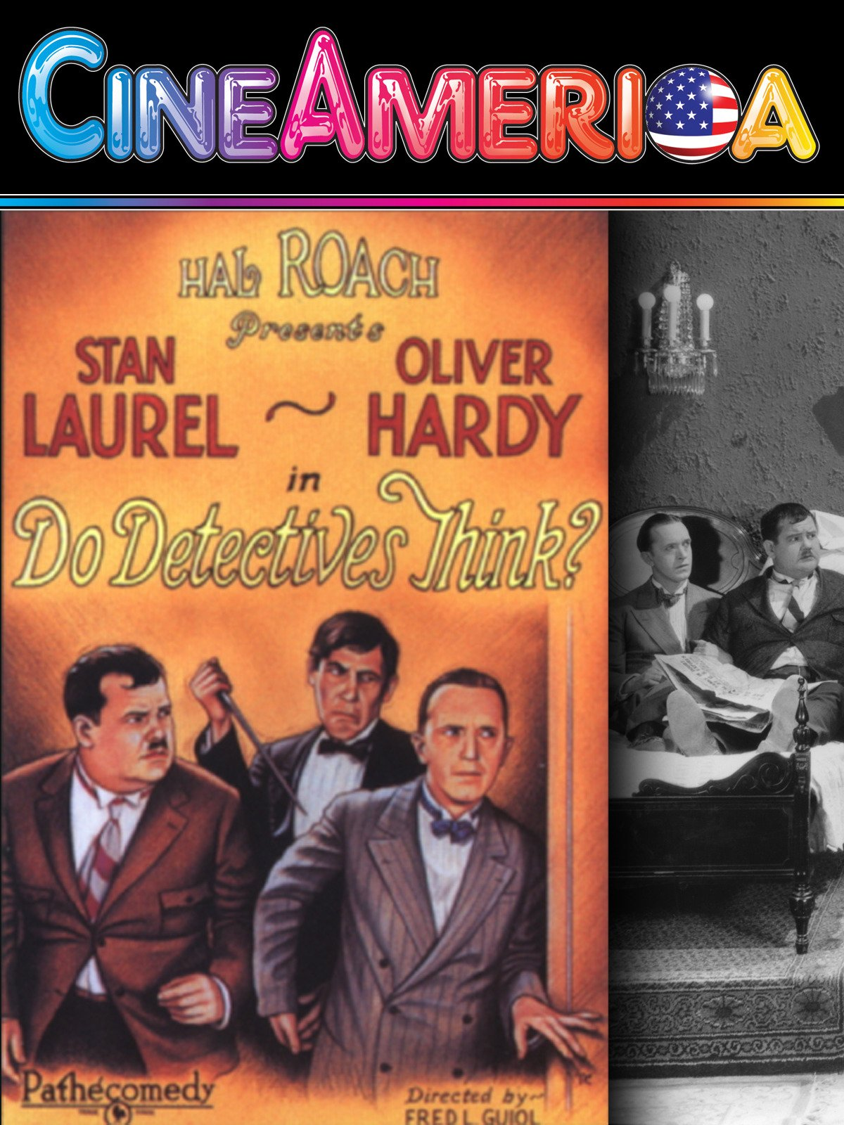 "Laurel and Hardy ""Do Detectives Think?"""