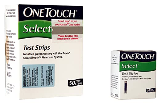 One Touch Select Simple Strips Box