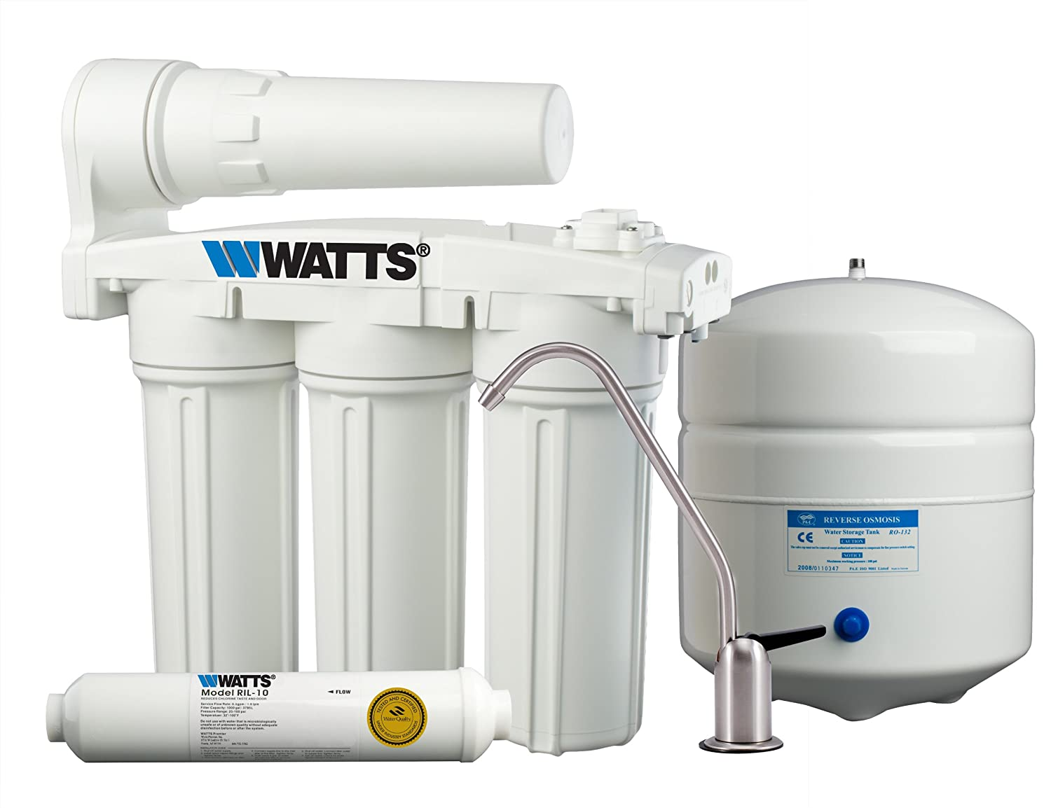 Watts Wp5 50 Premier Five Stage Manifold Reverse Osmosis