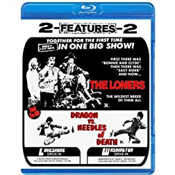 The Loners + Dragon Vs Needles Of Death (Drive-in Double Feature #7) [Blu-ray]