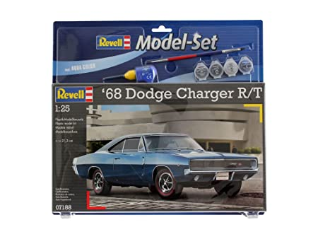 Revell - 67188 - Maquette - Model Set 1968 Dodge Charger