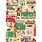 Cavallini Vintage Christmas Toys Wrapping Paper