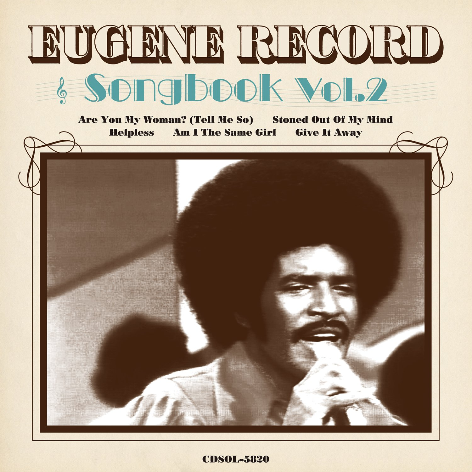 Eugene Record Songbook Vol.2 (Remaster Tracks)