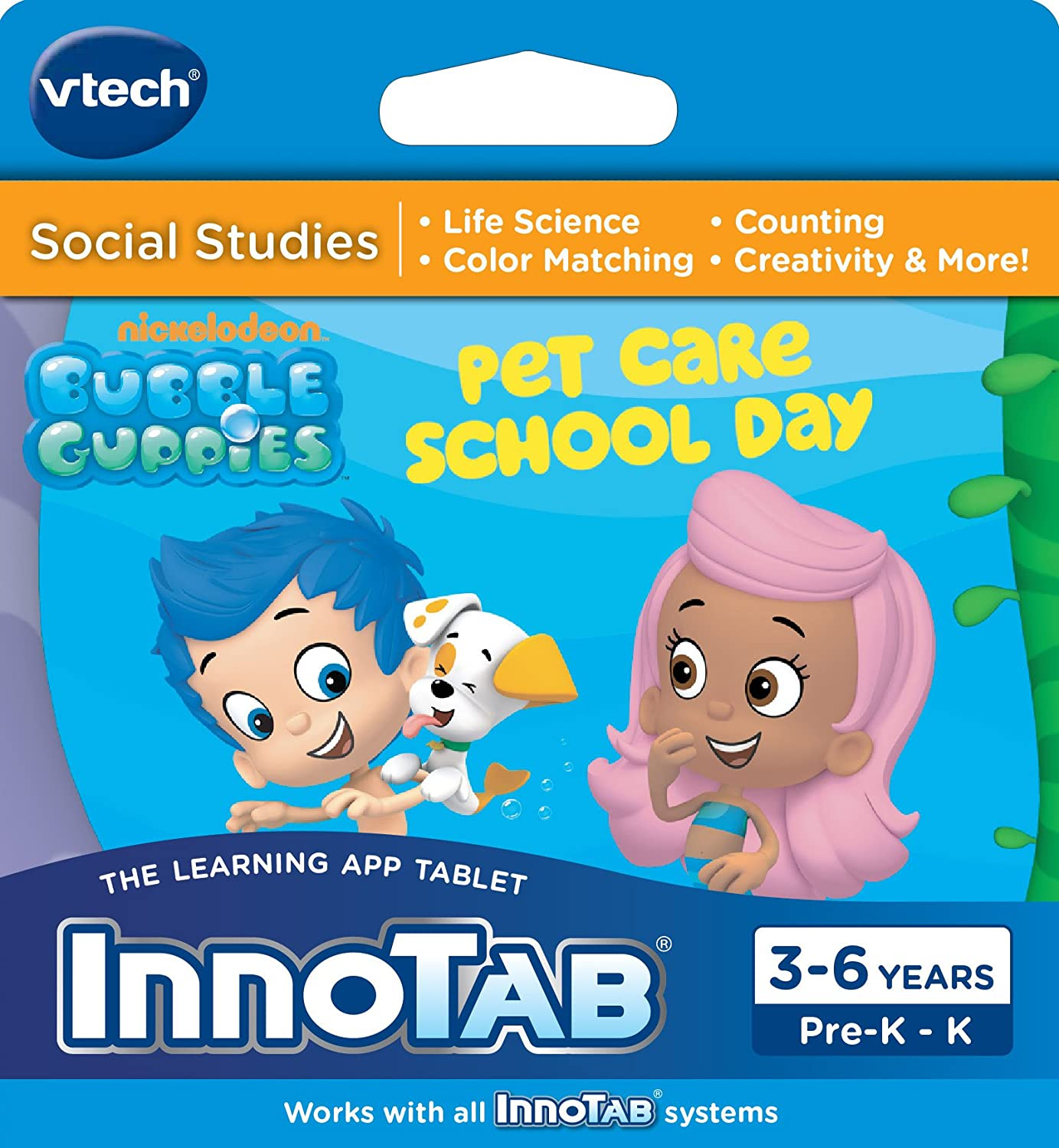 AmazonSmile: VTech InnoTab Software - Bubble Guppies: Toys & Games