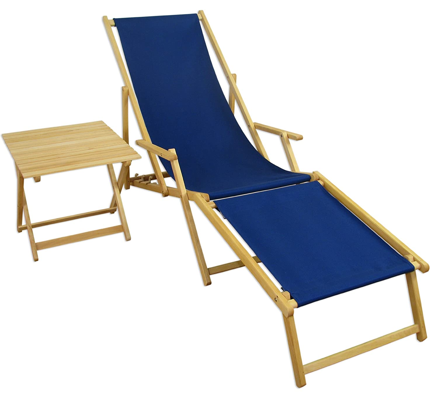 sonnenliege gartenliege deckchair saunaliege inkl abnehmbarem fu teil g nstig kaufen. Black Bedroom Furniture Sets. Home Design Ideas