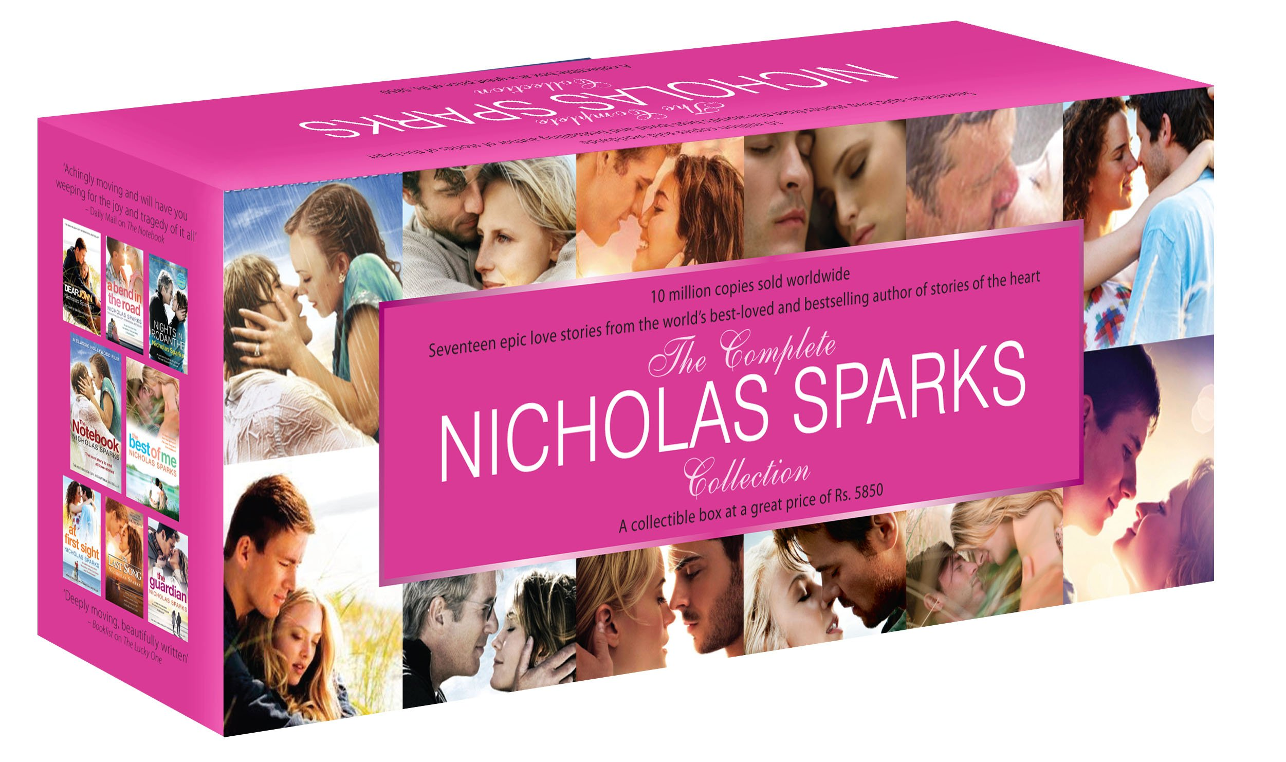 Buy Theplete Nicholas Sparks Collection Book Online At Low Prices In  India  Theplete Nicholas Sparks Collection Reviews & Ratings   Amazon