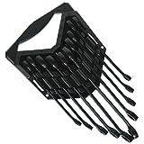 CRAFTSMAN Combination Wrench Set, 10 Pieces (944730) (Color: black, Tamaño: 1)