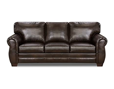 Simmons Upholstery Panama Bonded Leather Sofa