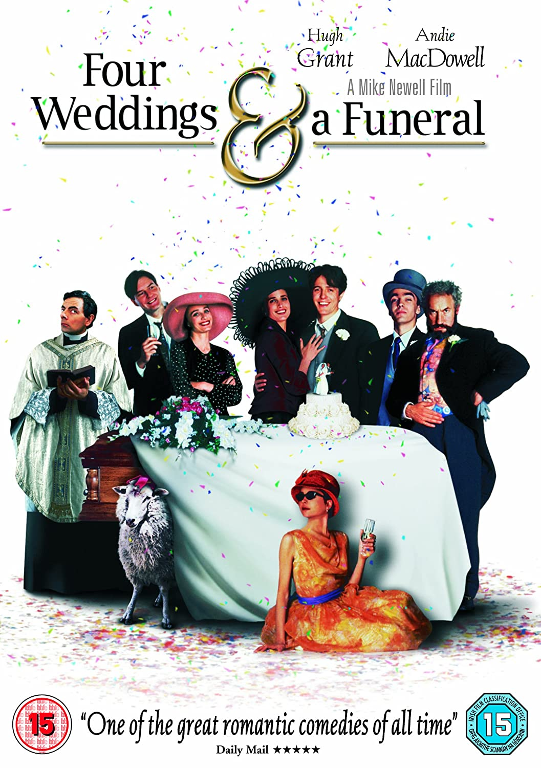 4 weddings and a funeral book report How one american cinema turned four weddings and a funeral  four weddings and a funeral would go on to earn more than $52 million at the u  the report also references a different leak.