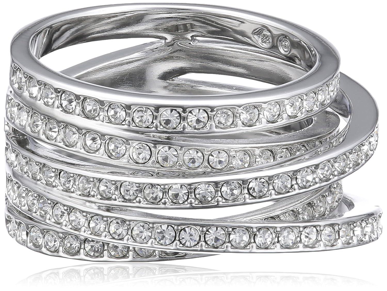 Swarovski Damen-Ring Metall Swarovski-Kristall weiß  11563 online kaufen