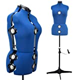 13 Dials Adjustable Mannequin Dress Form, Medium (Tamaño: M Size)