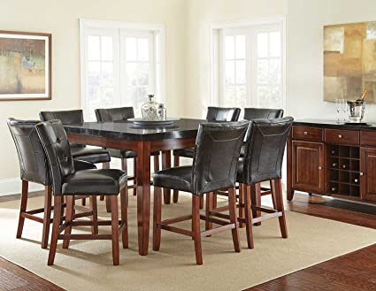 Steve Silver Montibello Counter Height Square Dining Table