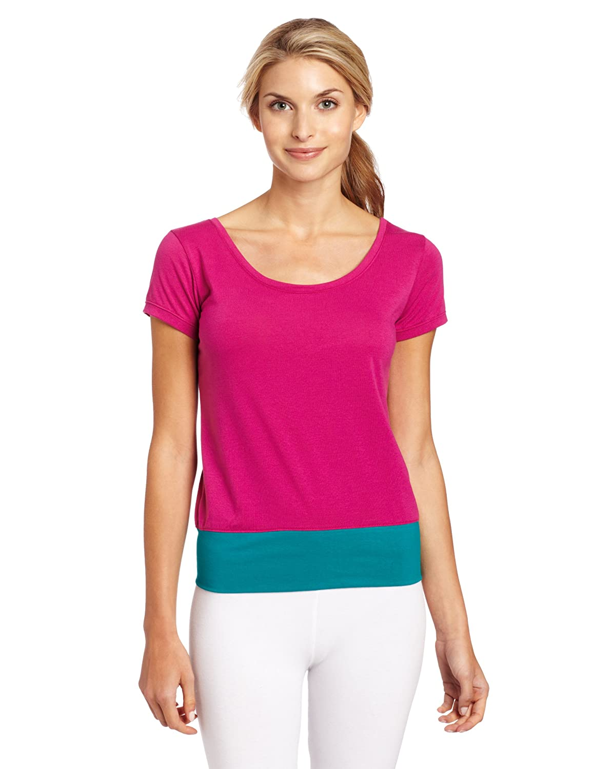 Zumba Women's Daring Scoop Neck Tee