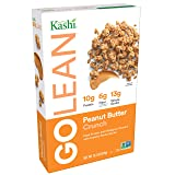 Kashi GOLEAN, Breakfast Cereal, Peanut Butter Crunch,  Non-GMO Project Verified, 13.2 oz (Tamaño: 13.2 OZ)