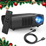 Projector, TENKER Upgrade +33% Lumens Portable Video Projector Mini Home Theater 5.0