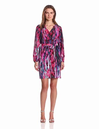 Charlie Jade Women's Mira Dress, Pink/Mauve, X-Small