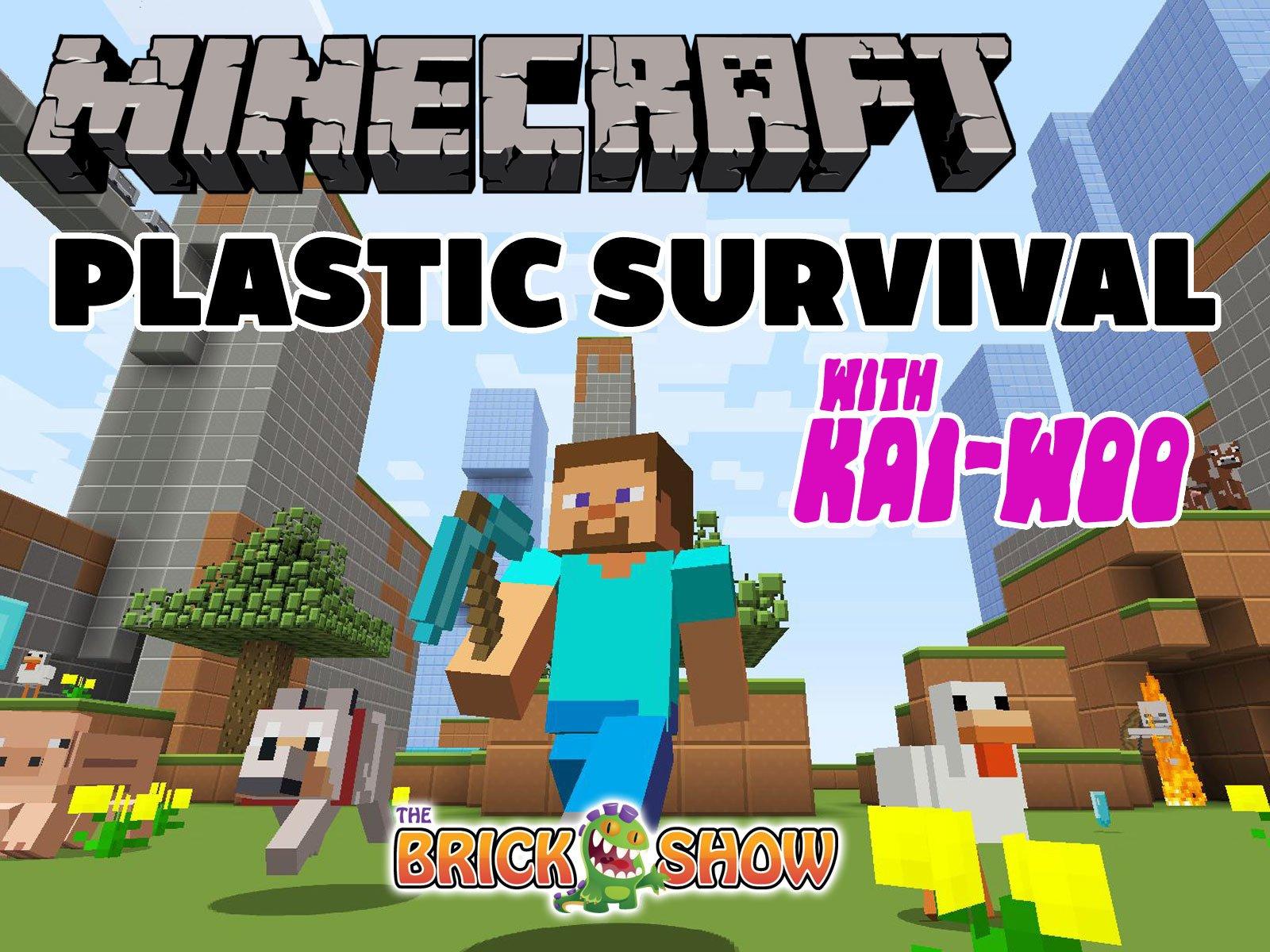 Clip: Minecraft Plastic Survival with Kai-Woo - Season 1