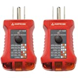 Amprobe ST-102B Socket Tester with GFCI (?wo ?ack) (Tamaño: ?wo ?ack)