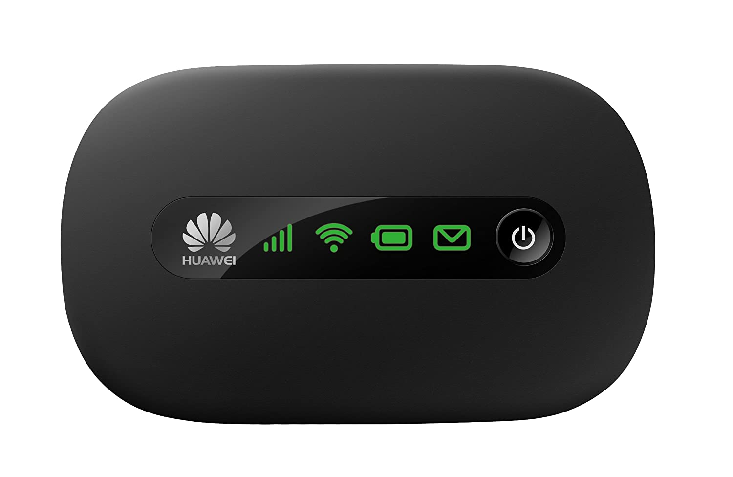 Huawei E5220s-6 21Mbps 3G Mobile WiFi (3G 850/1900MHz in the Americas, 3G 2100MHz in Europe, Asia, Middle East, Africa) - Black