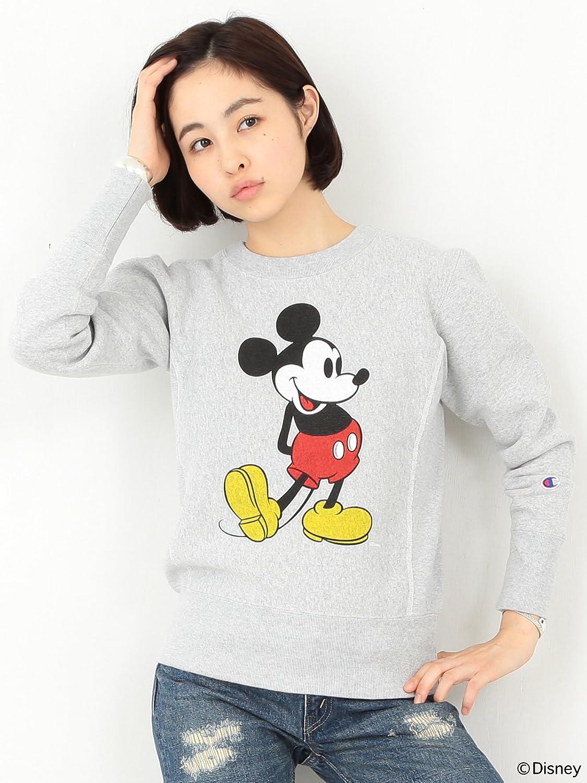 Amazon.co.jp: (ビームスボーイ) BEAMS BOY CHAMPION×BEAMS BOY / 別注 クルーネックスウェット Disney(ディズニー) 13130072411 グレー ONE SIZE: 服&ファッション小物