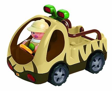 Tolo - 86565 - Figurine - Animaux - Voiture Safari - Safari Vehicle