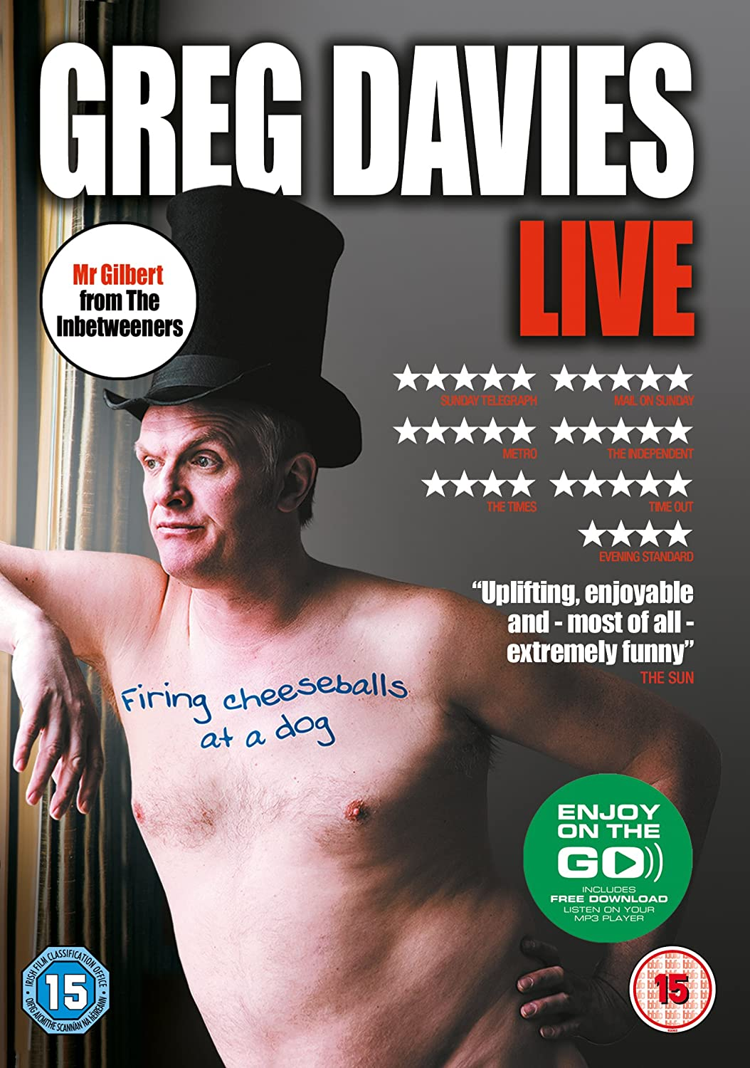Cheap DVD. Greg Davies.Cheeseballs.jpg